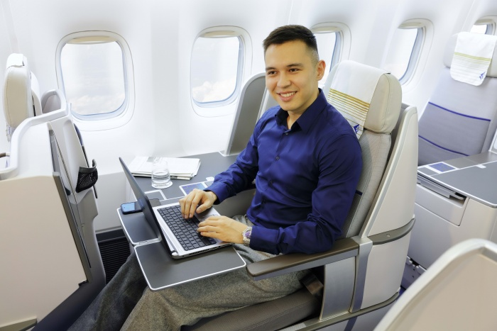 Air Astana brings on-board Wi-Fi to Boeing 767 fleet
