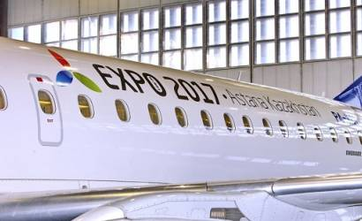 Air Astana launches Astana Expo 2017 livery overhaul