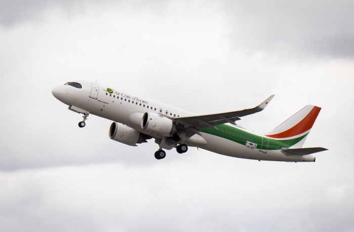 Air Côte d'Ivoire receives first A320neo from Airbus