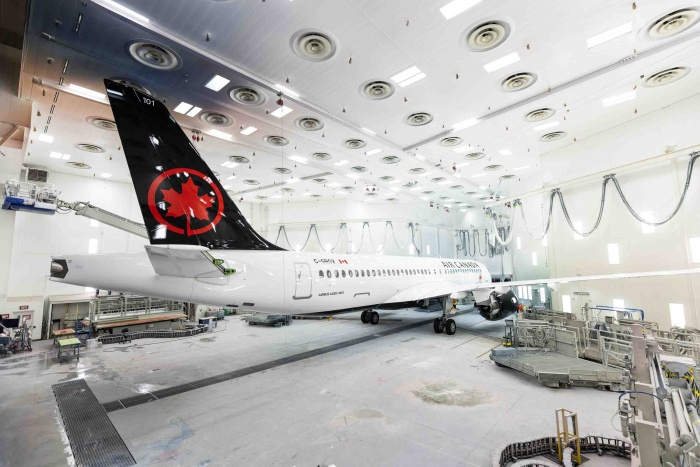 Air Canada prepares for Airbus A220 debut