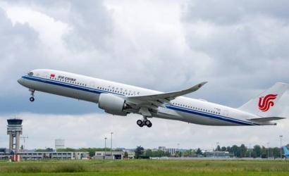 Air China welcomes Airbus A350-900 to fleet