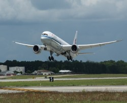 Air China welcomes first Boeing Dreamliner to fleet