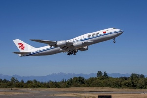Air China introduces Boeing 747-8 Intercontinental to Asia