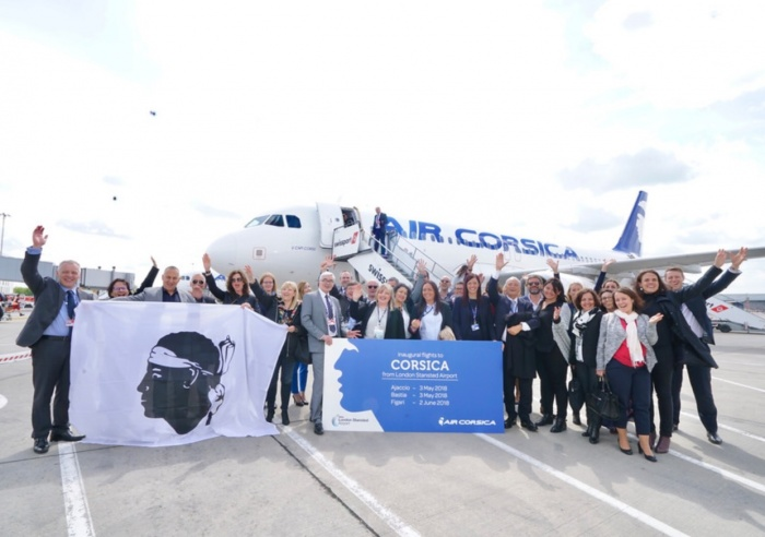 Air Corsica launches new services to Ajaccio and Bastia form Stansted
