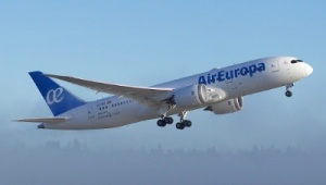Air Europa welcomes first Boeing Dreamliner to fleet