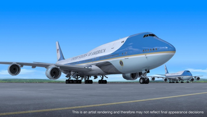 Boeing reaches Air Force One deal with president Trump