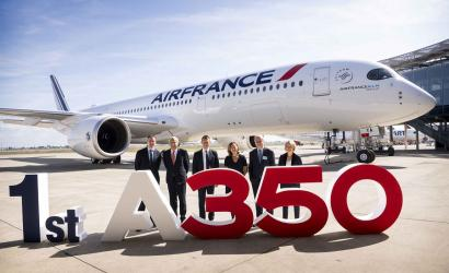 Air France welcomes first Airbus A350 to fleet