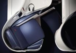 New Business Class seat from Air France