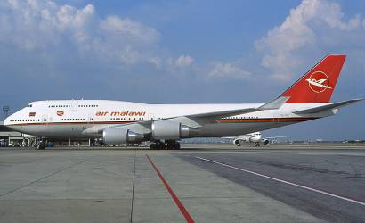 Malawian Airlines flies into Johannesburg, South Africa