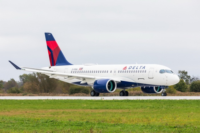 Delta Air Lines receives first A220 plane from Airbus