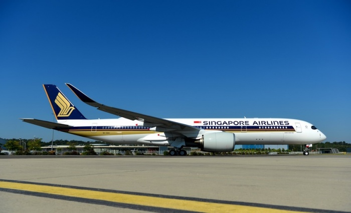 Singapore Airlines Takes Delivery Of World's First Airbus A350-900ULR