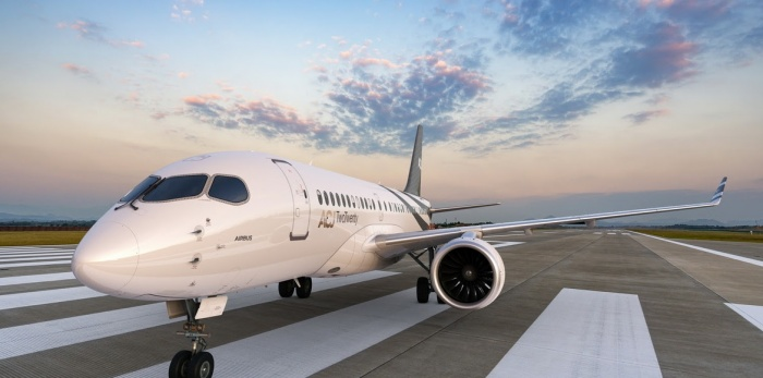 ACJ TwoTwenty launches to business jet market