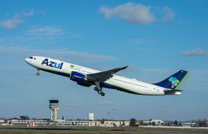 Azul takes delivery of first Airbus A330neo in Americas