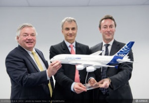 Airbus A380 receives boost with Amedeo deal