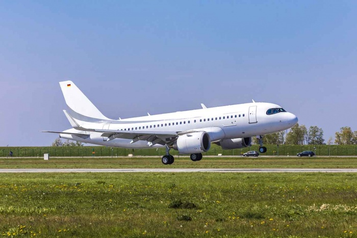 First Airbus ACJ319neo completes maiden flight