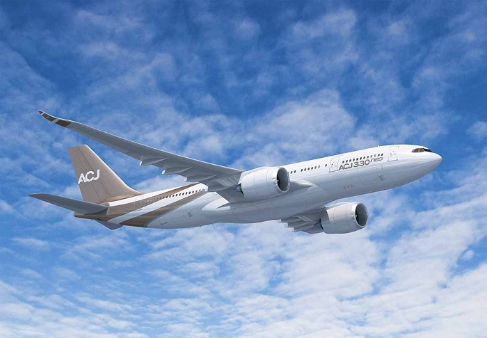 Airbus launches A330neo private jet to global market