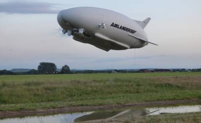 Airlander 10 makes successful flight over UK