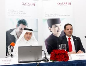 Qatar Airways outlines new routes