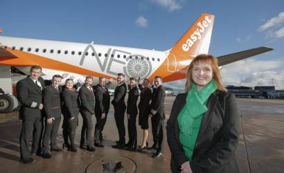 easyJet showcases Airbus A320neo at Manchester Airport