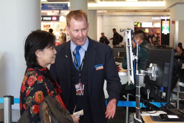 American Airlines launches biometric boarding at LAX