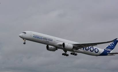 First Airbus A350-1000 takes to skies as testing begins