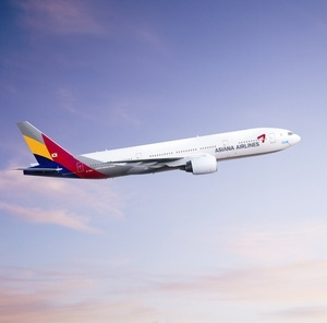 Asiana Airlines offers daily service from Heathrow to Seoul