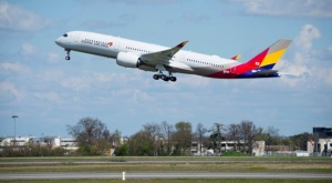 Asiana Airlines takes delivery of first A350 XWB