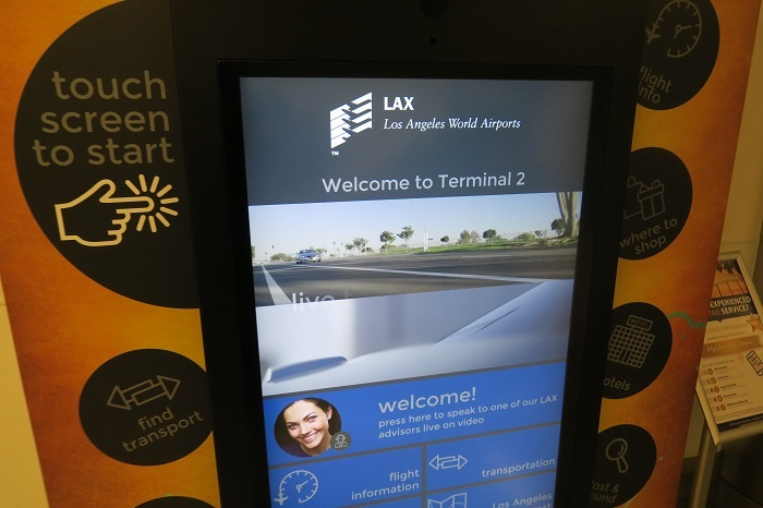 Los Angeles airport rolls out AskLAX kiosks
