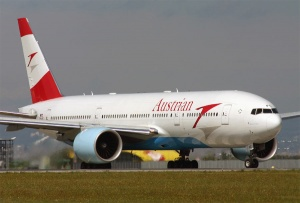 Passenger numbers up at Austrian Airlines Group