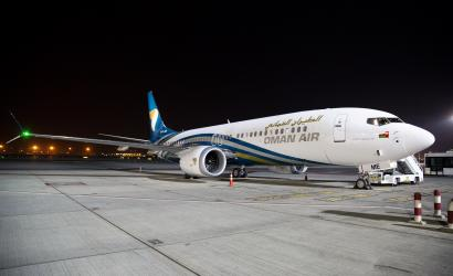 Oman Air takes delivery of latest Boeing 737 MAX 8