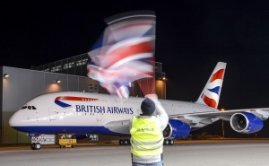 Finishing touches put to British Airways' first A380
