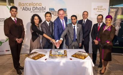 Etihad Airways launches new route to Barcelona