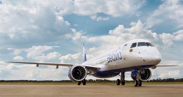 Belavia welcomes first Embraer E2 to fleet