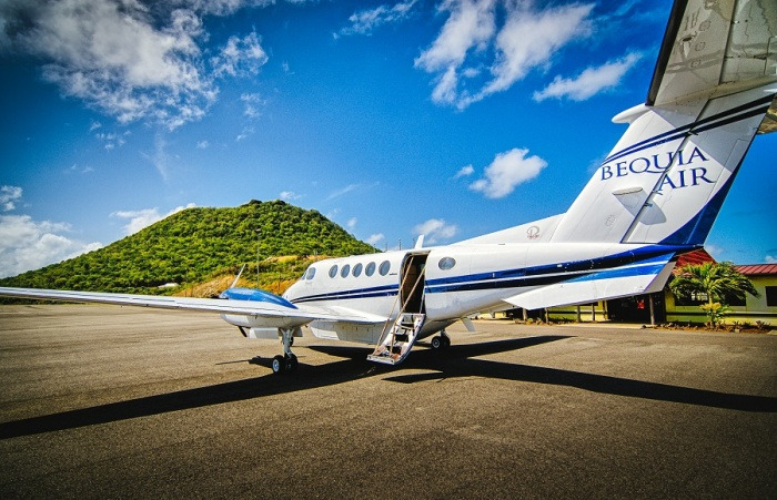 Bequia Beach Hotel launches private aircraft transfer