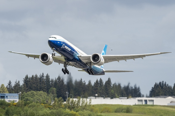 Boeing conducts successful test for second 777X