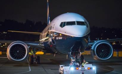 Boeing rolls out first 737 MAX 9 plane
