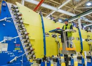 Boeing begins construction of first 737 MAX in Renton, Washington