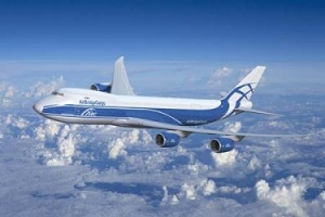 Paris Air Show: Biofuel powered Boeing 747-8 Freighter arrives at Le Bourget