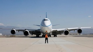 Test flight for Boeing 747-8 Intercontinental enhanced performance package