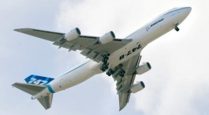 Korean Air takes delivery of first Boeing 747-8 and 777 Freighters.