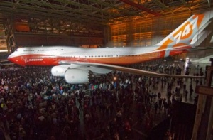 Boeing to showcase 747-8 Intercontinental in Paris