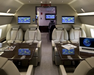 New luxury interior for Boeing Business Jets