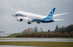 Boeing tests second 787-9 Dreamliner in United States