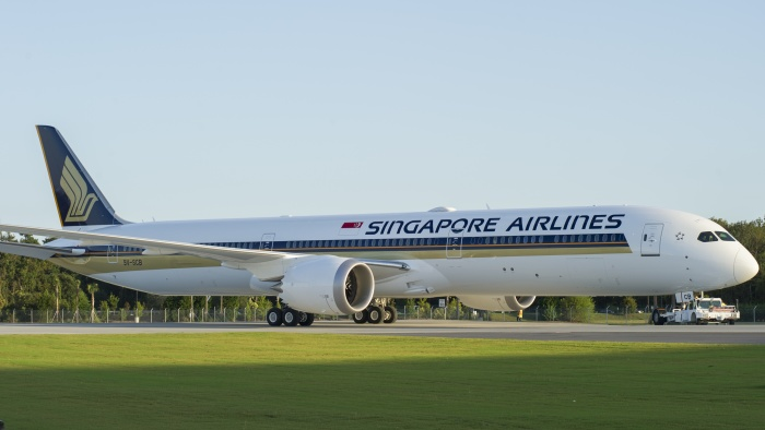 Singapore Airlines becomes launch customer for Boeing Dreamliner 787-10