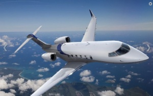 Bombardier introduces new Challenger 350 aircraft