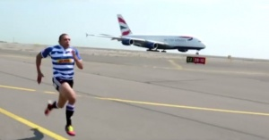 Habana challenges public to race British Airways A380