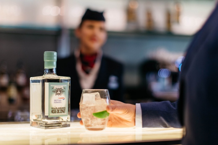 Best of British as BA launches own brand gin