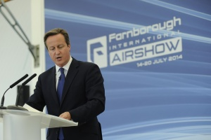 Record figures for Farnborough Air Show 2014