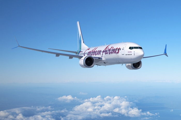 Caribbean Airlines selects Boeing 737 MAX 8 for fleet renewal