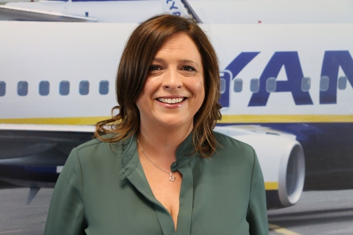 Sharkey joins senior management team at Ryanair